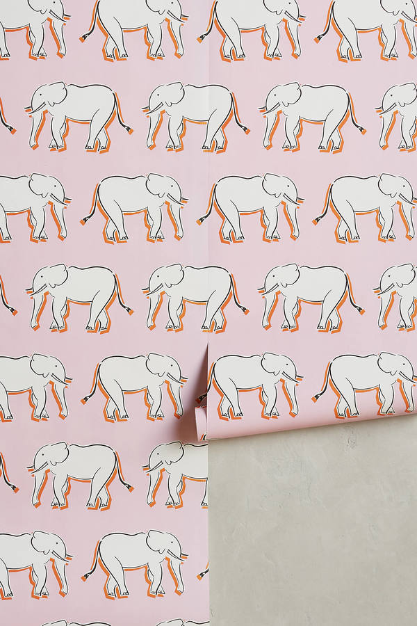 Anthropologie Anthropologie Sketched Safari Wallpaper