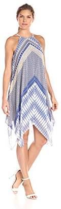 MSK Women's Woven Hanky Dress
