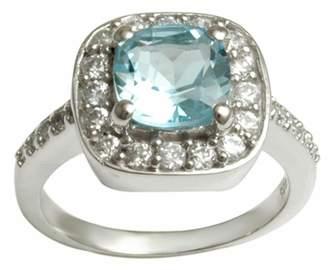 Banithani 925 Sterling Silver Indian Fashion Topaz Gemstone Ring Beautiful Jewelry