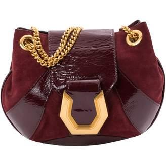 Temperley London Burgundy Suede Handbag