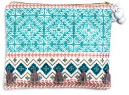 Sky Camila Embroidered Pouch - 100% Exclusive