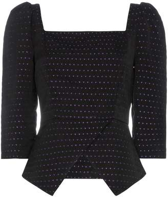 N. Duo Heart Embroidered Top