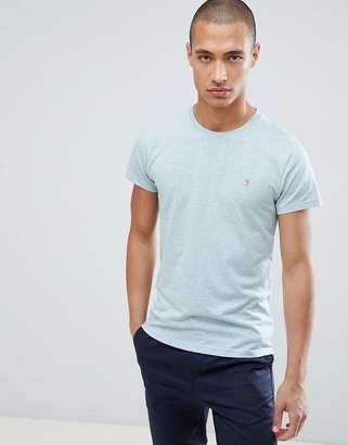 Farah Gloor Marl T-Shirt in Green
