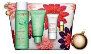 Clarins Four-Piece Pure Mask Gift Set