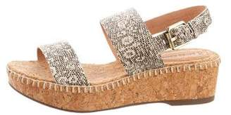Corso Como Sandy Embossed Sandals
