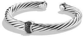 David Yurman Cable Classics Bracelet with Black Diamonds