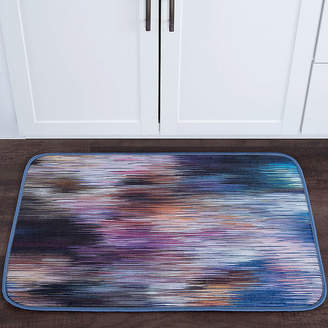 TAYSE Tayse Rainbow Stria Contemporary Abstract Anti-Fatigue Comfort Kitchen Mat