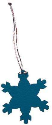 Hermes Petit H Snowflake Charm