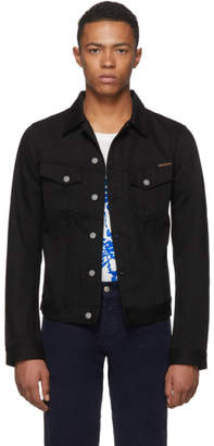 Nudie Jeans Black Billy Denim Jacket