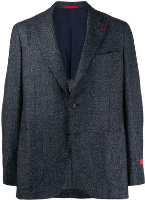 Isaia classic fitted blazer