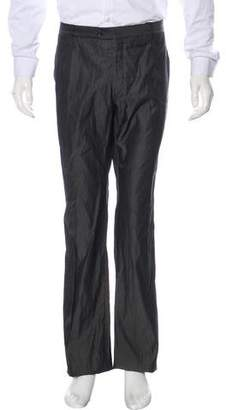 Giorgio Armani Flat Front Silk Pants w/ Tags