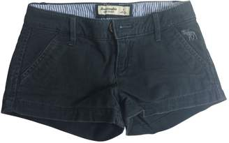Abercrombie & Fitch Blue Cotton Cute Stretch Shorts Size 8 Years Old Girl Kids
