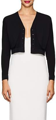 Narciso Rodriguez WOMEN'S COMPACT KNIT CROP CARDIGAN