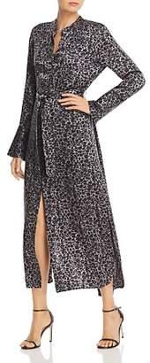 Equipment Connell Leopard-Printed Silk Dress