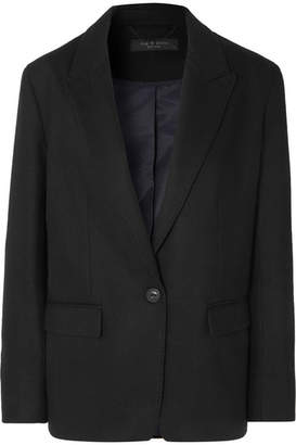 Rag & Bone Monty Wool-blend Blazer - Black