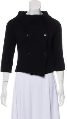 Barneys New York Barney's New York Wool Long Sleeve Cardigan