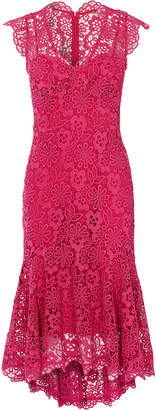 Karen Millen Peplum Hem Lace Dress