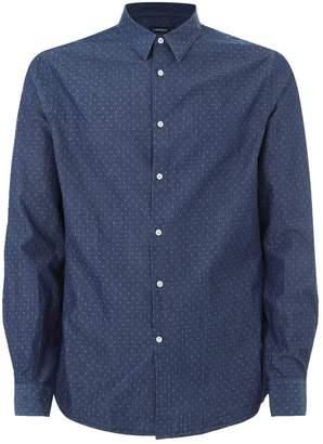 J. Lindeberg Daniel Diamond Cotton Shirt