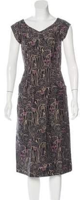 Thomas Wylde Silk Embellished Dress