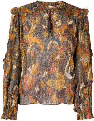 Ulla Johnson ruffle blouse