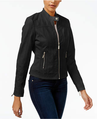 Joujou Jou Jou Juniors' Faux-Leather Moto Jacket