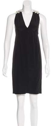 Marc Jacobs Silk Sleeveless Dress Black Silk Sleeveless Dress