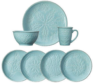 Pfaltzgraff Everyday Malibu 16 Piece Dinnerware Set, Service for 4