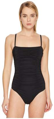 Letarte Ruched One-Piece Women's Swimsuits One Piece