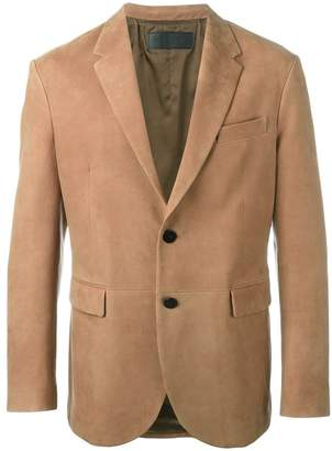Neil Barrett leather blazer