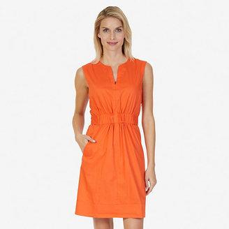 Gathered Waist Dress $98 thestylecure.com