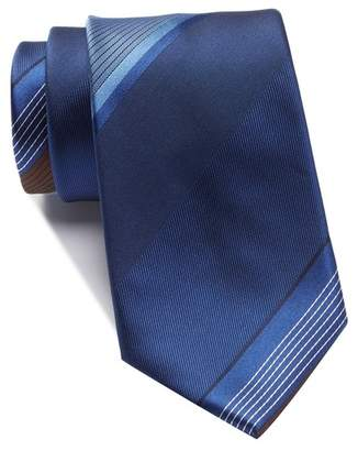 Kenneth Cole Reaction Large Repeat Stripe Tie