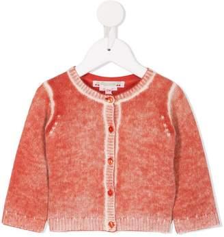 Bonpoint round neck knitted cardigan