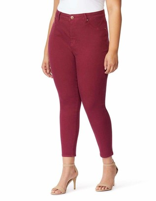 Curve Appeal Compression Jegging Pants in Pink Size 14W
