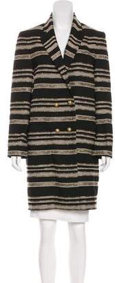 Jenni Kayne Patterned Knee-Length Coat