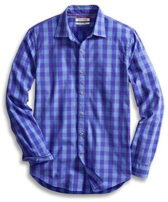 Goodthreads Men's Slim-Fit Long-Sleeve Large-Scale Check Shirt