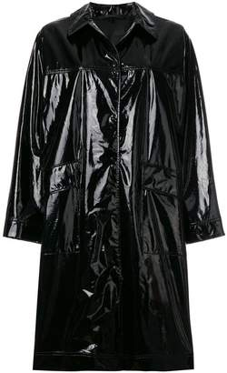 Belstaff Abourne high shine vinyl coat