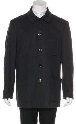 Armani Collezioni Wool & Cashmere Overcoat