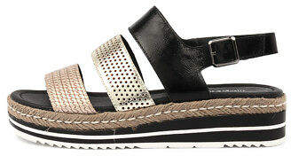 Django & Juliette New Akidna Womens Shoes Casual Sandals Heeled
