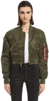 Alpha Industries Ma-1 Pm Cropped Bomber Jacket