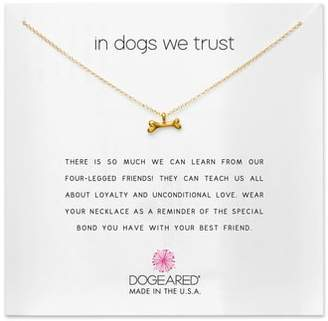 Dogeared (ドギャード) - Dogeared In Dogs We Trust Pendant Necklace