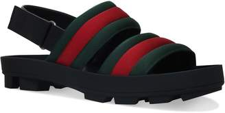 Gucci Sam Webbed Sandals