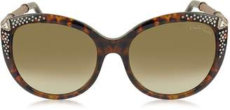 Roberto Cavalli TANIA 979S Acetate and Crystals Women's Sunglasses