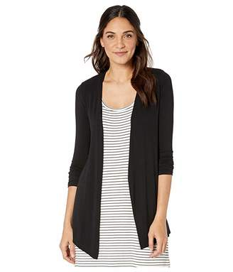 Majestic Filatures Long Sleeve Open Cardigan