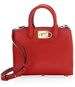 407dd994424f Salvatore Ferragamo Women s Mini Studio Leather Tote