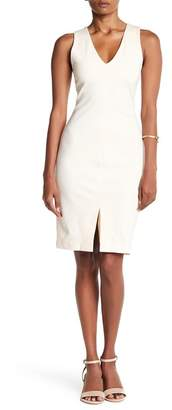 Love...Ady Ponte V-Neck Bodycon Dress