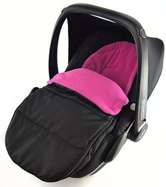 Recaro Car Seat Footmuff/Cosy Toes Compatible with Privia Pink Rose