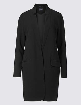 Marks and Spencer Crepe Notch Neck Coat