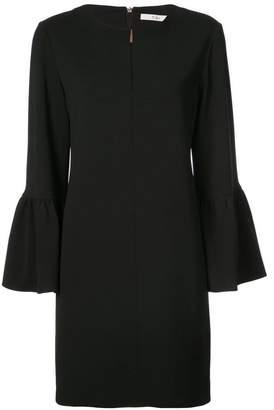 Tibi ruffle sleeve shift dress