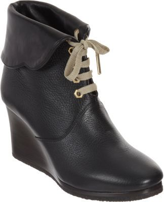Chloé Cuffed Wedge Ankle Boot