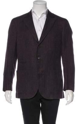 Brunello Cucinelli Silk & Linen Blazer